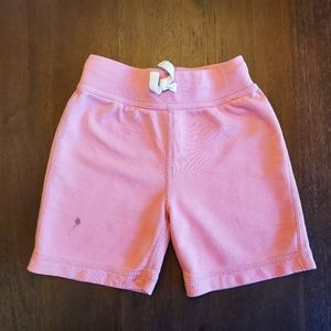 Hanna Andersson light pink play shorts size 100cm